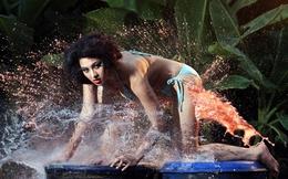 Thái Nhã Vân tung ảnh nóng không kém vụ 'nude để thiền'