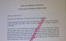 Nội dung bản giải trình của Huyền Chip gửi tới Trần Ngọc Thịnh