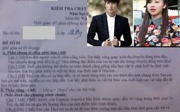 Hài hước đề thi học kỳ Vật lý có Kim Tan và cô bánh tráng trộn