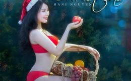 "Hot girl Hani Nguyễn khoe bộ ảnh Noel ""nóng bỏng mắt"""