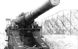 Khẩu siêu pháo nặng 1.350 tấn của Hitler