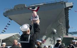 Ảnh độc: Siêu tàu sân bay Gerald R. Ford trước giờ G