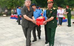 Thanh Hóa: Truy điệu, an táng 59 hài cốt liệt sĩ hi sinh tại Lào