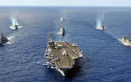 Siêu tàu chiến Mỹ rầm rập kéo đến Hàn Quốc