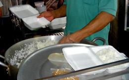 Nguy cơ ngộ độc khi dùng hộp xốp đựng thức ăn