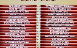 """Europa League: Spurs nhẹ gánh, Swansea đụng """"hàng khủng"""""""