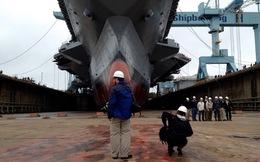 Mỹ thử nghiệm tàu sân bay Gerald R. Ford với 400 triệu lít nước