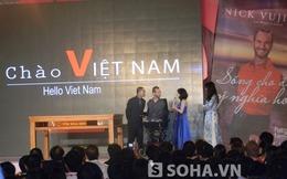 Giới trẻ Việt 'mê tít' vì Nick Vujicic không ngừng nói tiếng Việt