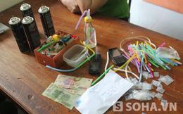 Nghệ An: Phá 'ổ' ma túy và vũ khí 'nóng' giữa vùng quê nghèo
