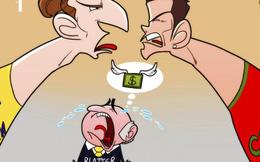 Ronaldo hay Ibra, với Sepp Blatter cũng vậy thôi!