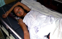 Nghệ An: Đi xe buýt, một nữ sinh bị ngã chấn thương sọ não