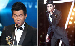 """Hồ Trung Dũng bất ngờ """"vượt mặt"""" Noo Phước Thịnh tại """"HTV Award 2013"""""""