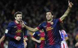 Busquets giành giải Cầu thủ xuất sắc nhất năm xứ Catalan