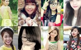 10 hot girl xinh đẹp, nổi tiếng nhất trên mạng năm 2013