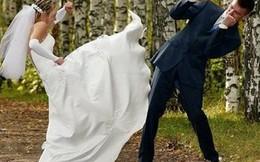 Cô dâu đánh nhau như trong phim hành động để giành chú rể