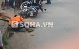 TP.HCM: Người vợ ngất lịm bên thi thể chồng gặp tai nạn