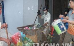 Hà Nội: Tan tầm, cuống cuồng về nhà để... đổ rác