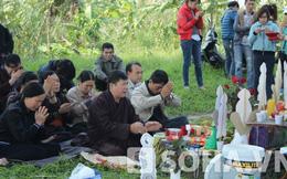 """""""Thầy"""" Đài Loan xuất chiêu: Có kẻ thứ 3 phi tang xác chị Huyền?"""