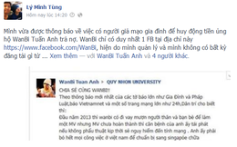 Mạo danh gia đình Wanbi Tuấn Anh để huy động tiền trả nợ gây phẫn nộ