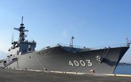 Bên trong tàu đổ bộ JDS Kunisaki đang thả neo tại cảng Đà Nẵng