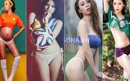 """Sao Việt nào """"cởi"""" bạo nhất mùa World Cup 2014?"""