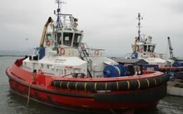 Hình ảnh tàu kéo Việt Nam xuất khẩu sang châu Âu