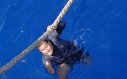 Mù một mắt, cụt một tay vẫn lặn bám biển Hoàng Sa