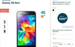 Gây thất vọng lớn Samsung vẫn bán Galaxy S5 với giá...trên trời