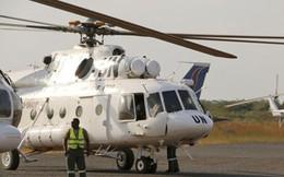 Trực thăng của LHQ rơi, tất cả phi hành đoàn người Nga thiệt mạng