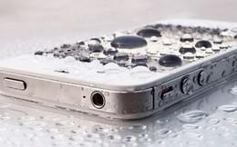 Cách cấp cứu nhanh cho điện thoại bị rơi nước