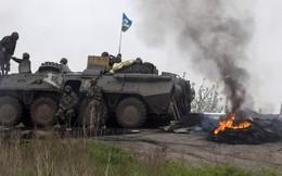 Cận cảnh chiến sự ác liệt ở Slavyansk, Ukraine
