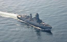 Khu trục hạm hiện đại nhất Ấn Độ sau 11 năm mới được chuyển giao