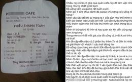 Quán caffe ép khách phải làm tròn tiền thanh toán