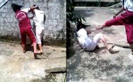 Nữ sinh đánh bạn dã man vì mâu thuẫn trên Facebook