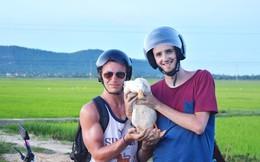 Chàng trai Tây và chú vịt Việt Nam cùng phượt hơn 1.750 km