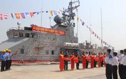 Bàn giao Tàu pháo TT400TP số 4 cho Quân chủng Hải quân