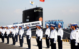 VIDEO: Cam Ranh gấp rút chuẩn bị lễ thượng cờ 2 tàu ngầm Kilo