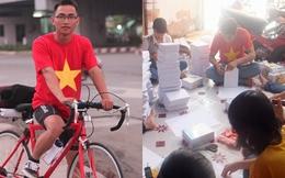 Bỏ việc lương cao, 9x đi xuyên Việt làm từ thiện