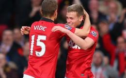James Wilson, sao trẻ lập cú đúp cho Man United là ai?