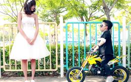 Lời giải đáp cho bức ảnh cưới của cặp đôi chàng 1m26 nàng 1m75