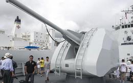 """TQ """"nhờ"""" nhà báo phương Tây """"khoe hộ"""" vũ khí trên tàu Type 052C"""