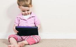 Dùng iPad nhiều, trẻ em có thể phát triển ngôn ngữ kém