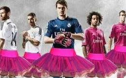 Ảnh chế: Ronaldo, Bale, Casillas tranh nhau mặc váy hồng