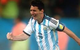 Hình ảnh lệ rơi của Messi & ĐT Argentina