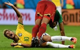 Neymar và đồng đội giỏi… ăn vạ nhất World Cup 2014