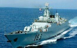 3 tàu chiến của Hạm đội Nam Hải kéo xuống Biển Đông
