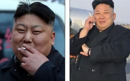 Bản sao của Kim Jong Un quạt thịt xiên, hút thuốc trên phố TQ