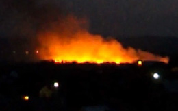 Khoảnh khắc máy bay quân sự Ukraine chở 49 người bị bắn hạ