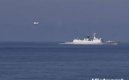 Xuất hiện 2 máy bay mới tại khu vực giàn khoan Hải Dương 981