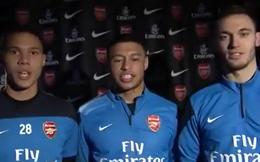 Sao Arsenal chúc tết fan Việt Nam bằng tiếng Việt